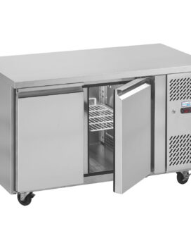 Interlevin PH20 Gastronorm Stainless Steel Counter 2-Door Chiller