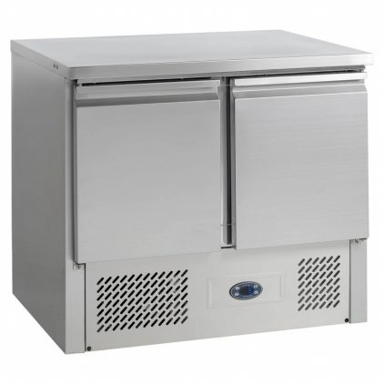 Tefcold SA910B Gastronorm Stainless Steel Counter 2-Door