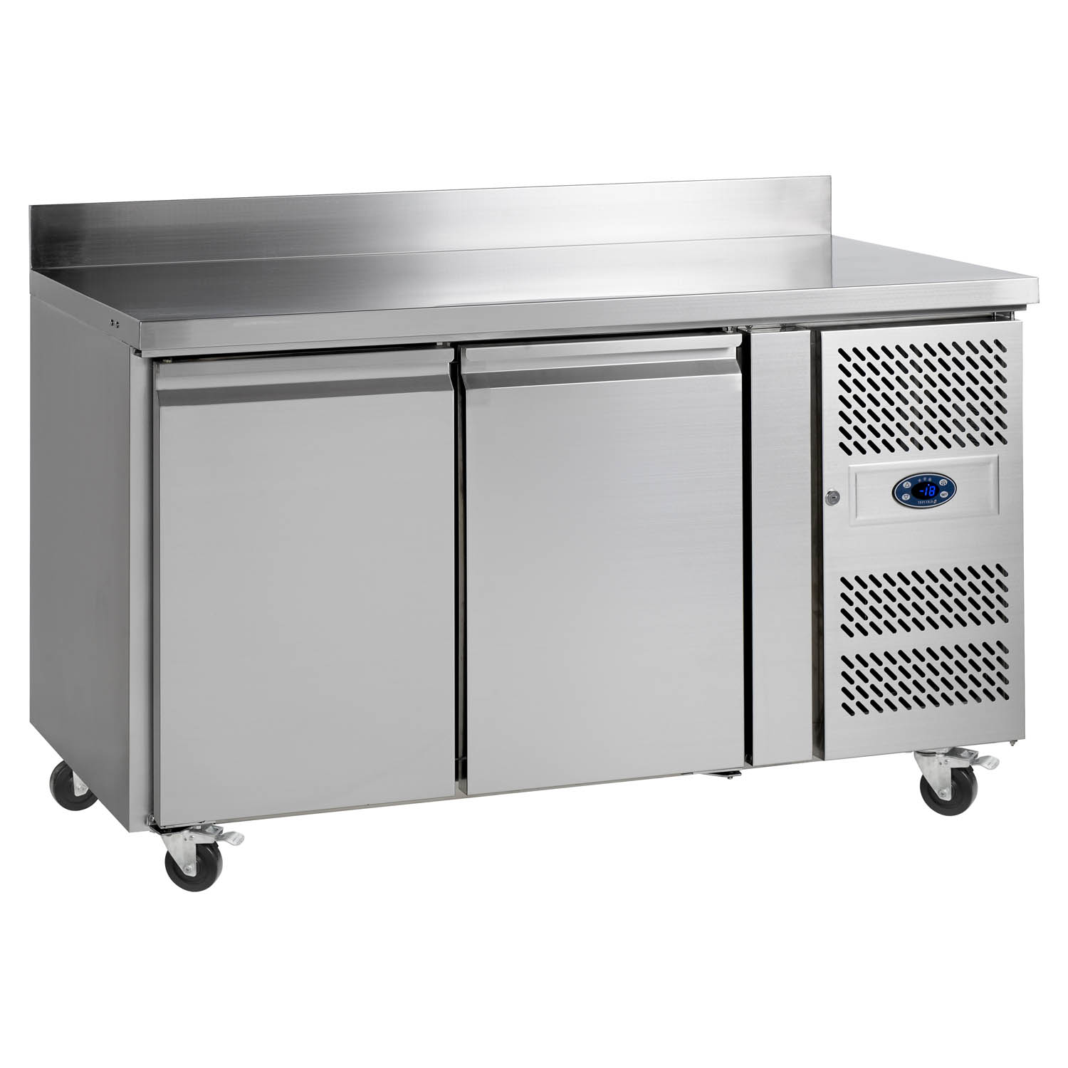 Tefcold CK7210P SS Gastronorm Stainless Steel Counter Freezer