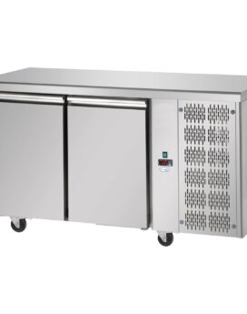 Interlevin Italia TF02 SS Gastronorm 2-Door Stainless Steel Counter Chiller