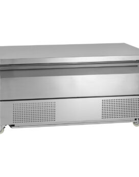 Tefcold Uni-Drawer UD1-3 Dual Temperature Gastronorm Stainless Steel Counter