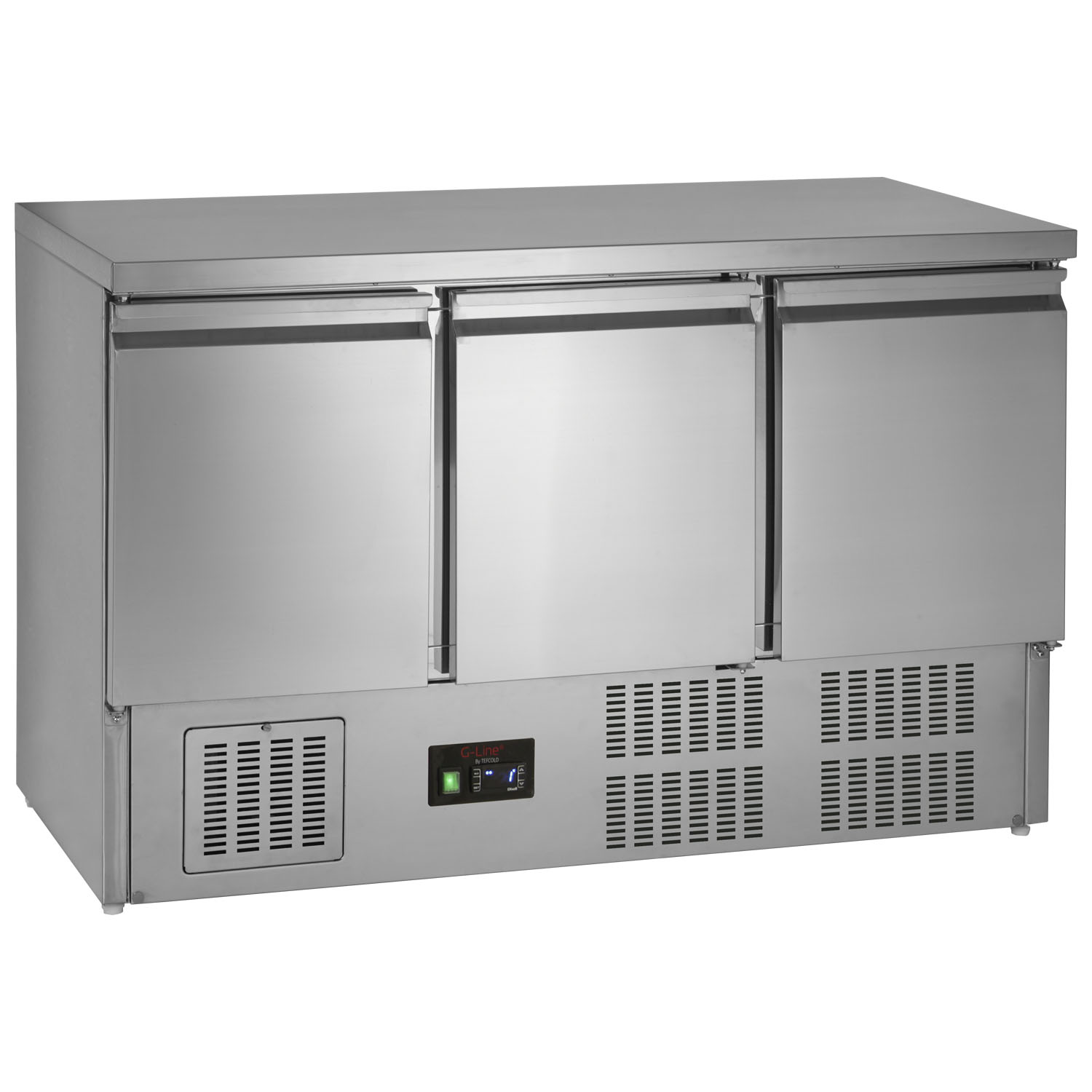 Tefcold G-Line GS365ST Gastronorm 3-Door Counter Chiller